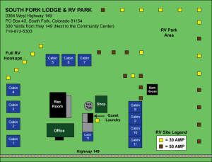 South Fork Park Map
